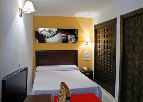 Single Room Ítaca Sevilla Hotel en Seville